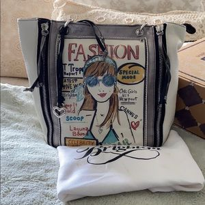"EUC Brighton ""Scoop"" Fashionista Handbag"